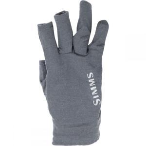 シムズ Simms メンズ グローブ 釣り・フィッシング Prodry Glove Plus Liner Steel|fermart3-store