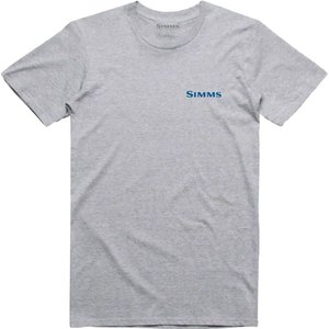 シムズ Simms メンズ Tシャツ トップス USA Species T - Shirt Grey Heather|fermart3-store