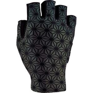 スパカズ Supacaz メンズ グローブ 自転車 SupaG Short Gloves Oil Slick|fermart3-store