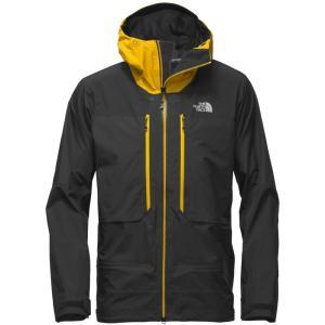 ザ ノースフェイス メンズ アウター スキー・スノーボード Summit L5 GTX Pro Jackets Tnf Black/Canary Yellow|fermart3-store