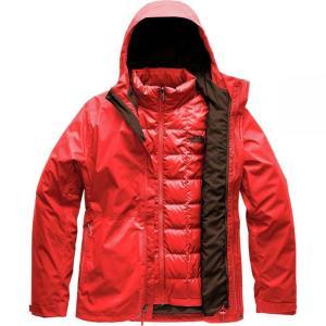 ザ ノースフェイス The North Face メンズ ダウン・中綿ジャケット アウター Altier Down Triclimate Hooded Jackets Fiery Red/Fiery Red|fermart3-store
