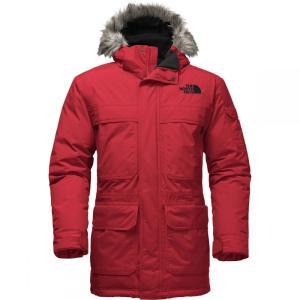 ザ ノースフェイス メンズ ダウンジャケット アウター McMurdo Hooded Down Parka IIIs Tnf Red|fermart3-store
