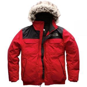 ザ ノースフェイス The North Face メンズ ダウンジャケット アウター Gotham Hooded Down Jacket IIIs Tnf Red/Tnf Black|fermart3-store