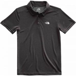 ザ ノースフェイス メンズ ポロシャツ トップス Plaited Crag Polos Tnf Dark Grey Heather|fermart3-store
