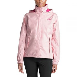 ザ ノースフェイス The North Face レディース レインコート アウター Pink Ribbon Resolve Jacket Purdy Pink/Raspberry Rose|fermart3-store
