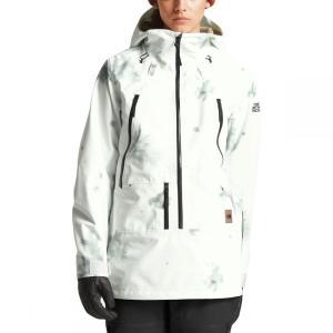 ザ ノースフェイス The North Face レディース アウター スキー・スノーボード Ceptor Anorak Jacket Tnf White Snowcam Print|fermart3-store