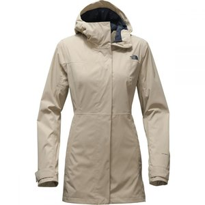 ザ ノースフェイス The North Face レディース トレンチコート アウター City Midi Trench Jacket Crockery Beige|fermart3-store