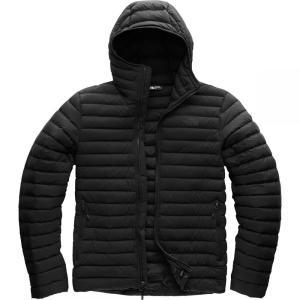 ザ ノースフェイス The North Face メンズ ダウン・中綿ジャケット アウター Stretch Down Hooded Jackets Tnf Black/Tnf Black|fermart3-store