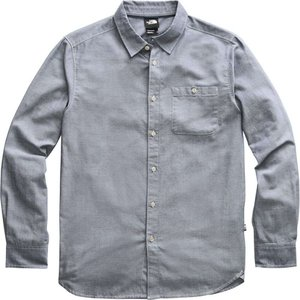 ザ ノースフェイス The North Face メンズ シャツ トップス Hayden Pass 2.0 Long - Sleeve Shirt Blue Wing Teal Hayden Pass Chambray|fermart3-store