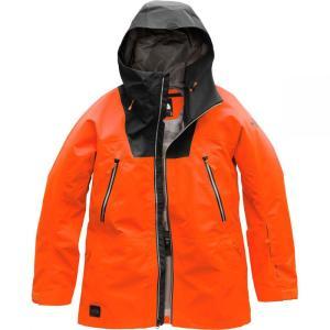 ザ ノースフェイス The North Face メンズ アウター スキー・スノーボード Ceptor Hooded Jackets Persian Orange/Tnf Black|fermart3-store