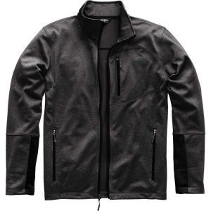 ザ ノースフェイス メンズ フリース トップス Canyonlands Fleece Jackets Tnf Dark Grey Heather fermart3-store