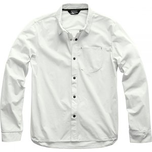 ザ ノースフェイス The North Face メンズ シャツ トップス North Dome Long - Sleeve Shirt Tin Grey|fermart3-store