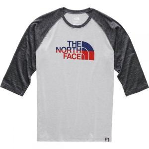 ザ ノースフェイス The North Face メンズ 長袖Tシャツ トップス Americana 3/4 Tri - Blend Baseball T - Shirts fermart3-store