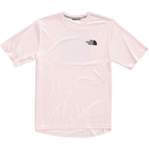 ザ ノースフェイス The North Face メンズ Tシャツ トップス Lenticular Reaxion T-Shirts Pink Salt fermart3-store