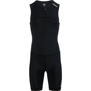 ツータイムズユー 2XU メンズ トップス トライアスロン Active Tri Suits Black/Black|fermart3-store