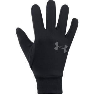 アンダーアーマー Under Armour レディース 手袋・グローブ Armour Liner 2.0 Gloves Black/Graphite|fermart3-store