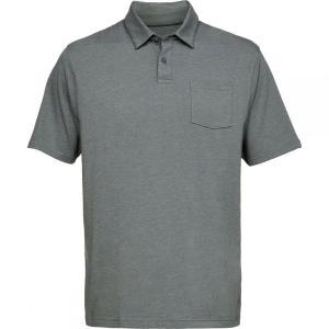 アンダーアーマー Under Armour メンズ ポロシャツ トップス Charged Cotton Scramble Polo Shirts Pitch Gray/Pitch Gray Medium Heather/Pitch Gray fermart3-store