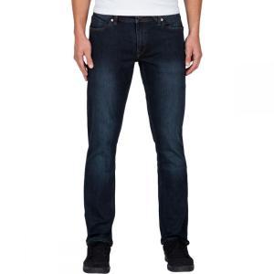 ボルコム Volcom メンズ ボトムス ジーンズ Vorta Slim Denim Pant Vintage Blue|fermart3-store