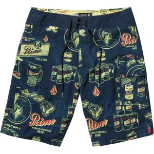 ボルコム Volcom メンズ 海パン 水着・ビーチウェア Primo Beer Mod 20in Board Shorts Navy|fermart3-store