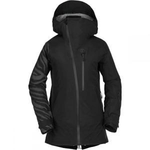 ボルコム Volcom レディース アウター スキー・スノーボード Nya TDS Gore - Tex Jacket Black|fermart3-store