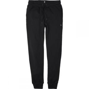 ボルコム Volcom メンズ スウェット・ジャージ ボトムス・パンツ Single Stone Fleece Pants Black fermart3-store