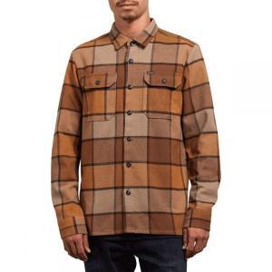 ボルコム Volcom メンズ シャツ トップス Randower Flannel Shirts Mud fermart3-store