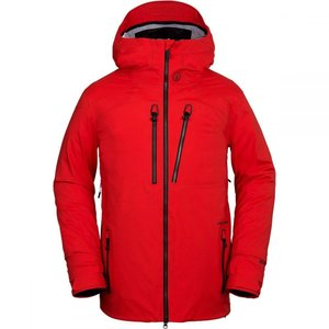 ボルコム Volcom メンズ アウター スキー・スノーボード Guch Stretch Gore - Tex Jackets Fire Red|fermart3-store