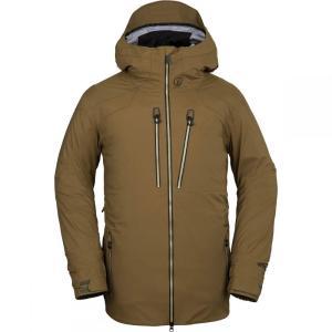 ボルコム Volcom メンズ アウター スキー・スノーボード Guch Stretch Gore - Tex Jackets Moss|fermart3-store