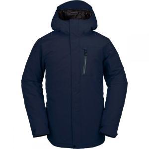 ボルコム Volcom メンズ スキー・スノーボード ジャケット アウター L Gore - Tex Jacket Navy|fermart3-store