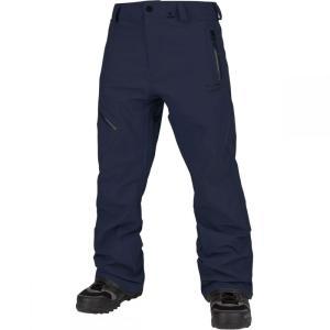 ボルコム Volcom メンズ スキー・スノーボード ボトムス・パンツ L Gore - Tex Pant Navy|fermart3-store