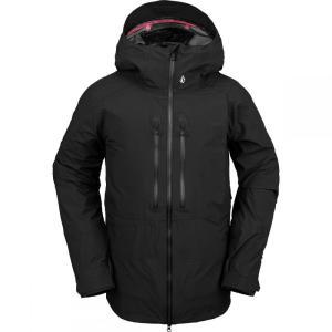ボルコム Volcom メンズ スキー・スノーボード フード ジャケット アウター Guide Gore - Tex Hooded Jacket Black|fermart3-store