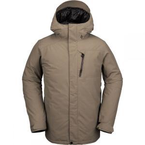 ボルコム Volcom メンズ スキー・スノーボード フード ジャケット アウター L Insulated Gore - Tex Hooded Jacket Teak|fermart3-store