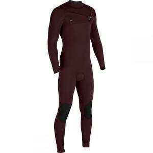 ヴィスラ Vissla メンズ ウェットスーツ 水着・ビーチウェア The 7 Seas 3/2 Chest Zip Long - Sleeve Wetsuits Wine|fermart3-store