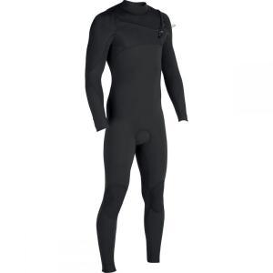 ヴィスラ メンズ ウェットスーツ 水着・ビーチウェア The 7 Seas 4/3 Chest Zip Long - Sleeve Wetsuits Covert|fermart3-store