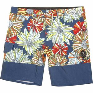 ヴィスラ Vissla メンズ 海パン 水着・ビーチウェア Ligularia 18.5in Board Shorts Dark Denim|fermart3-store