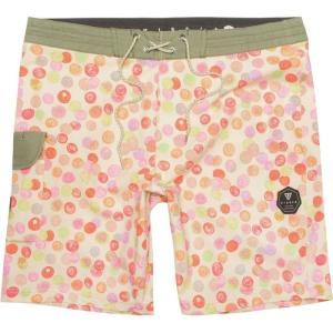 ヴィスラ Vissla メンズ 海パン 水着・ビーチウェア Spun Out 18.5in Board Shorts Wax Yellow|fermart3-store