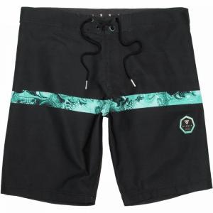 ヴィスラ Vissla メンズ 海パン 水着・ビーチウェア C & I's 20in Board Shorts Black|fermart3-store