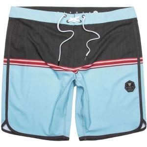 ヴィスラ Vissla メンズ 海パン 水着・ビーチウェア Dredges Board Shorts Cool Blue|fermart3-store