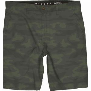 ヴィスラ Vissla メンズ ショートパンツ ボトムス・パンツ Caves Hybrid 20in Walkshorts Camo|fermart3-store