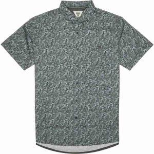 ヴィスラ Vissla メンズ 半袖シャツ トップス Serangan Shirts Light Slate|fermart3-store
