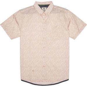 ヴィスラ Vissla メンズ 半袖シャツ トップス Serangan Shirts Pink Fade|fermart3-store