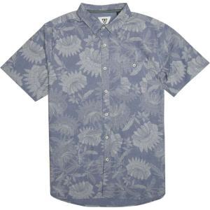 ヴィスラ Vissla メンズ 半袖シャツ トップス Padang Shirts Dark Denim|fermart3-store