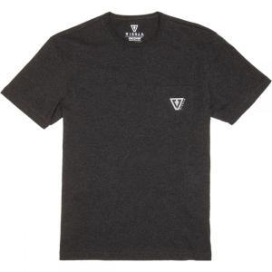 ヴィスラ Vissla メンズ Tシャツ トップス Established Upcycled T - Shirts Black Heather|fermart3-store