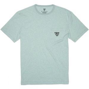 ヴィスラ Vissla メンズ Tシャツ トップス Established Upcycled T - Shirts Jade Mist Heather|fermart3-store