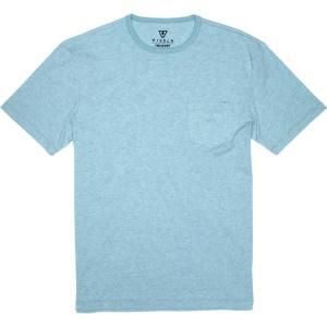 ヴィスラ Vissla メンズ Tシャツ トップス Vintage Upcycled T - Shirts Jade Mist Heather|fermart3-store