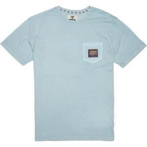 ヴィスラ Vissla メンズ Tシャツ トップス Point Short - Sleeve Pocket T - Shirts Ice Blue|fermart3-store
