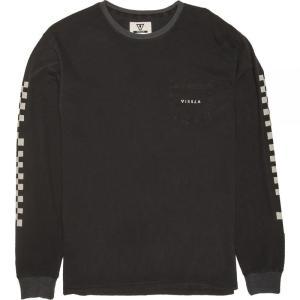 ヴィスラ Vissla メンズ 長袖Tシャツ トップス Variel Long - Sleeve Pocket Shirts Phantom|fermart3-store