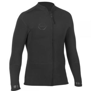 ヴィスラ Vissla メンズ ジャケット アウター Front Zip 2mm Jackets Black|fermart3-store