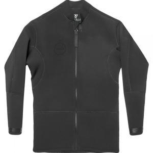ヴィスラ Vissla メンズ ウェットスーツ ジャケット 水着・ビーチウェア front zip 2mm jacket Stealth|fermart3-store