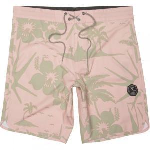 ヴィスラ Vissla メンズ 海パン 水着・ビーチウェア Mokuleia 18.5in Board Shorts Pink Fade|fermart3-store